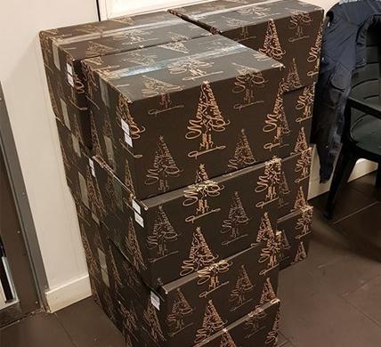 Kerstpakket verloting